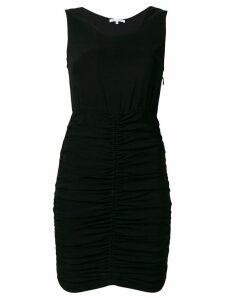 Patrizia Pepe gathered dress - Black