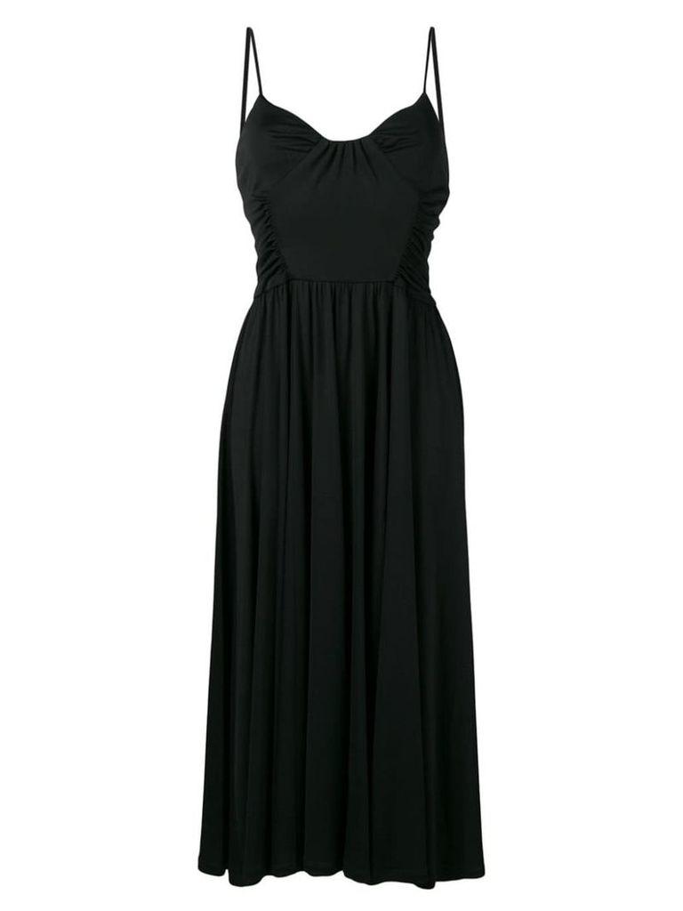 MSGM A-line midi dress - Black