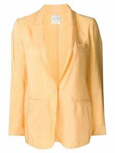 Forte Forte satin blazer - Yellow