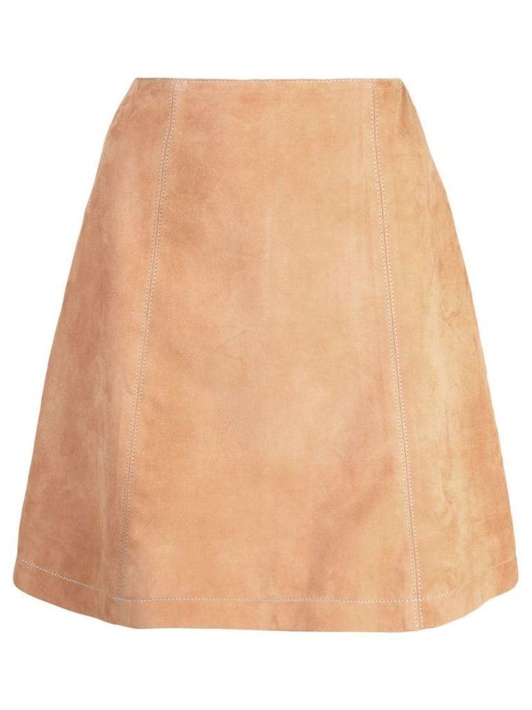 Carolina Herrera A-line skirt - Brown