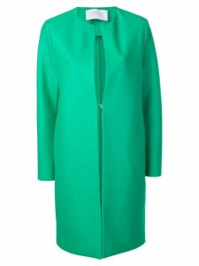 Harris Wharf London collarless coat - Green