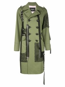 Dsquared2 double breasted trench-coat - Green