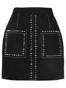 Proenza Schouler Studded Mini Skirt - Black