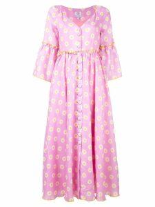 Gül Hürgel babydoll midi dress - Pink