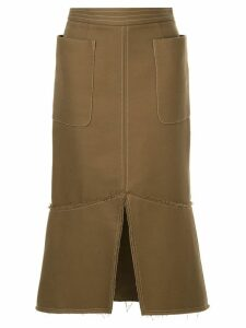 CAMILLA AND MARC Sloane Skirt - Brown