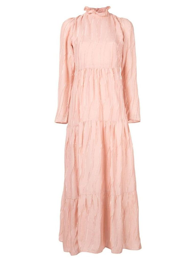 Stine Goya Judy devoré dress - Pink