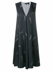 Theory printed dress - Black