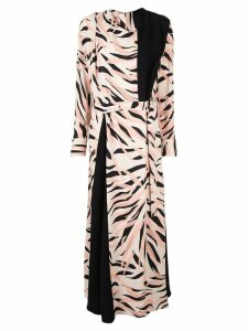 Layeur long printed dress - Multicolour