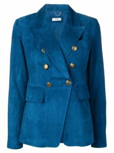Desa 1972 classic double-breasted blazer - Blue