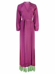 Rhode Resort tassel-hem maxi dress - Purple