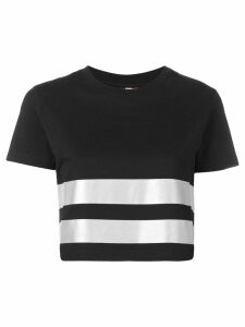 Rossignol striped T-shirt - Black
