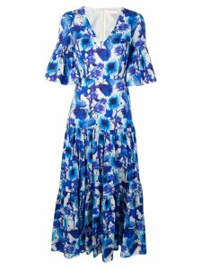 Borgo De Nor Teodora print dress - Blue