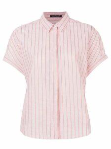 Luisa Cerano striped shirt - Pink
