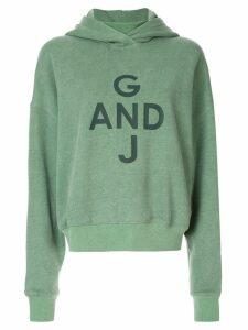 Goen.J logo hoodie - Green