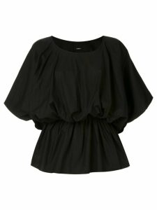 Goen.J elasticated waist blouse - Black