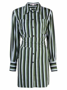 Carolina Herrera striped shirt dress - Green