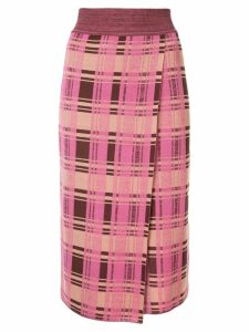 Goen.J knitted Daria skirt - Multicolour