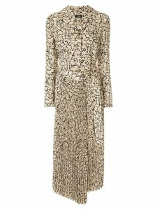Goen.J Simone leopard print dress - Yellow
