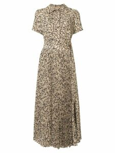 Goen.J Simona printed midi dress - Yellow