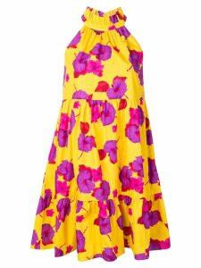 Borgo De Nor Margot poplin dress - Yellow
