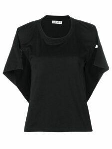 Aalto capelet T-shirt - Black