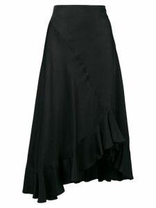 Kenzo asymmetric skirt - Black