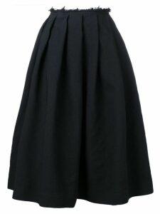 Comme Des Garçons pleated midi skirt - Black