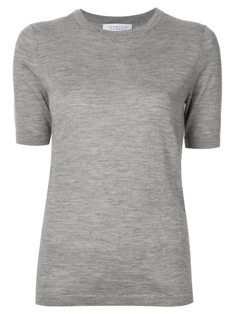 Gabriela Hearst cashmere t-shirt - Grey