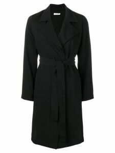 P.A.R.O.S.H. belted coat - Black