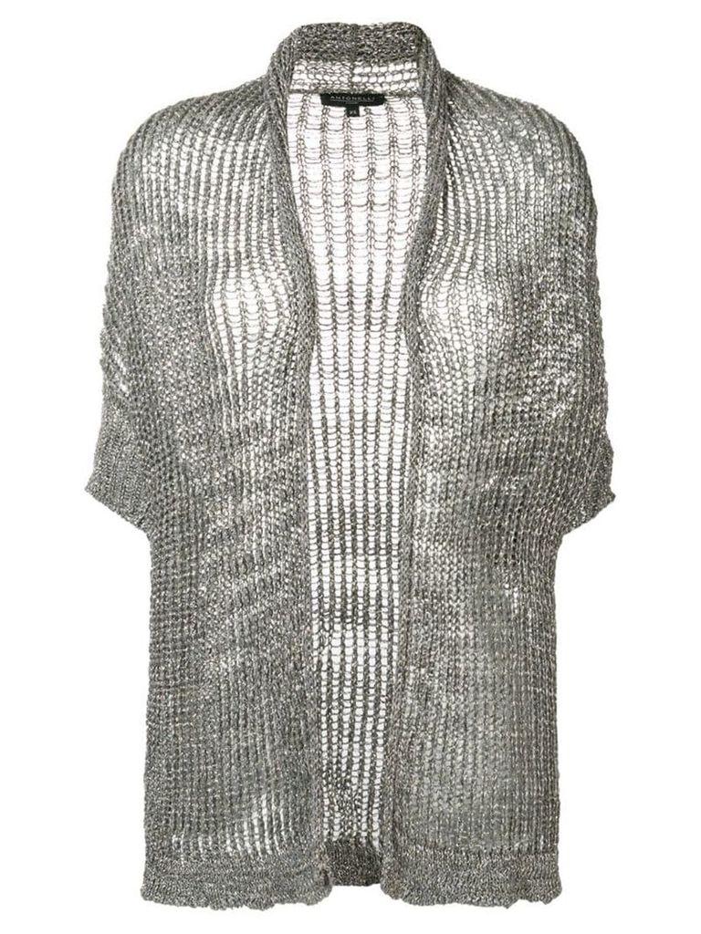 Antonelli Tulite cardigan - Grey