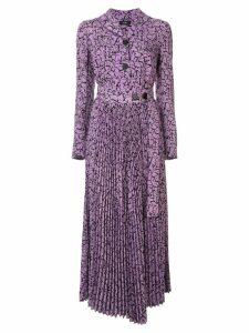 Goen.J Simona printed midi dress - Purple