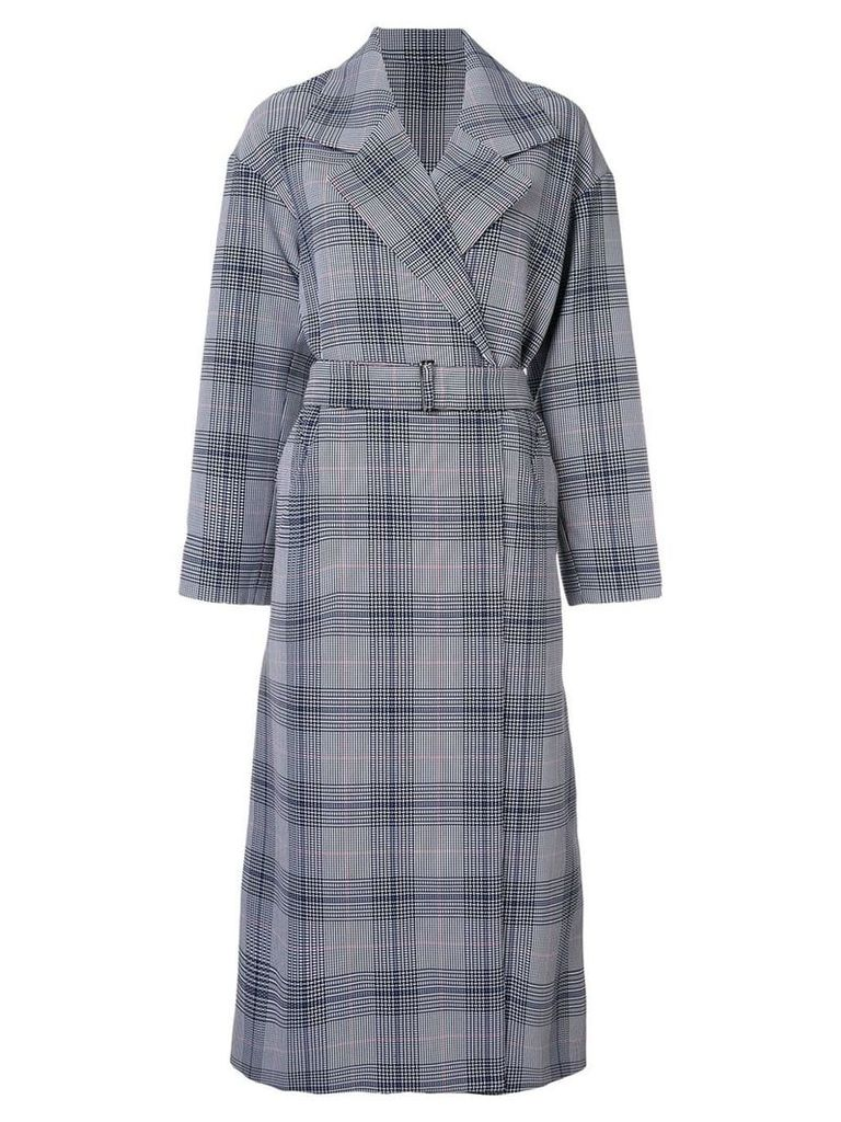 Layeur checked trench coat - Multicolour