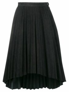 Isaac Sellam Experience asymmetric hem pleated skirt - Black