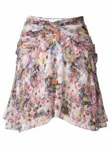 Iro Orchus print skirt - Pink