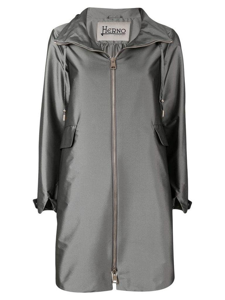 Herno hooded coat - Grey
