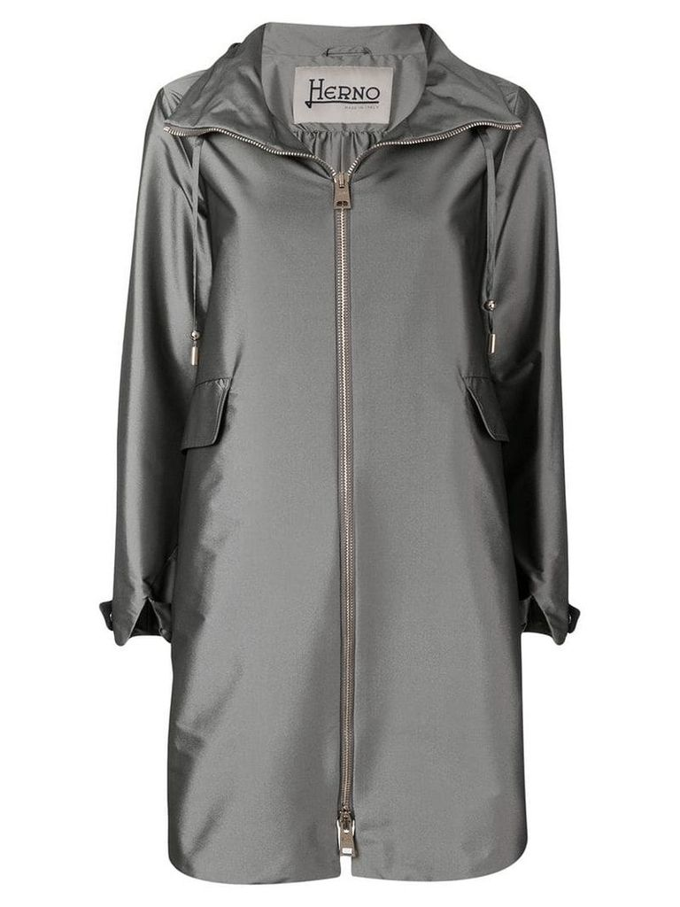 Herno hooded coat - Grey