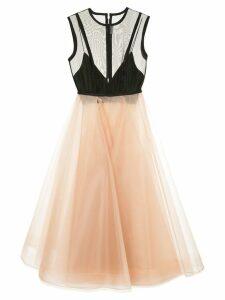 Alex Perry Halsey dress - NEUTRALS