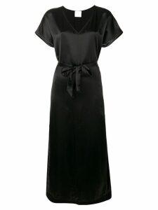 Forte Forte belted jersey dress - Black