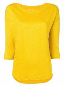 Majestic Filatures round neck jumper - Yellow