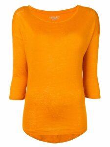 Majestic Filatures round neck jumper - Orange