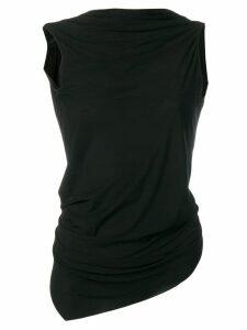 Rick Owens Lilies draped dress - Black