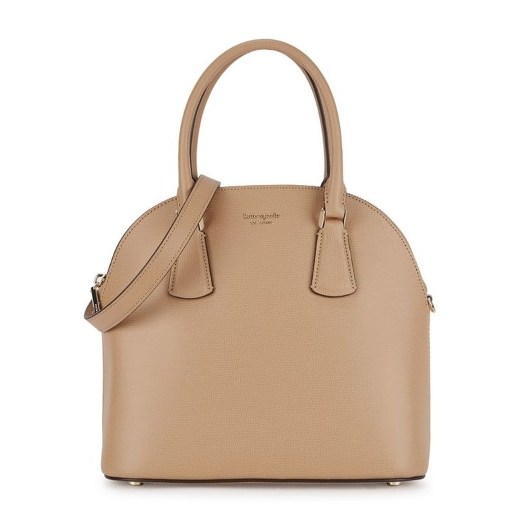 Kate Spade New York Sylvia Camel Grained Leather Shoulder Satchel