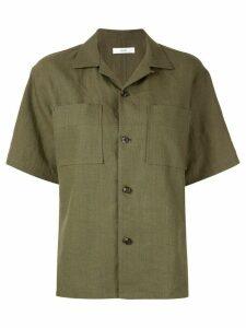 G.V.G.V. open collar shirt - Green