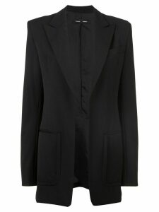 Proenza Schouler Wool Suiting Blazer - Black