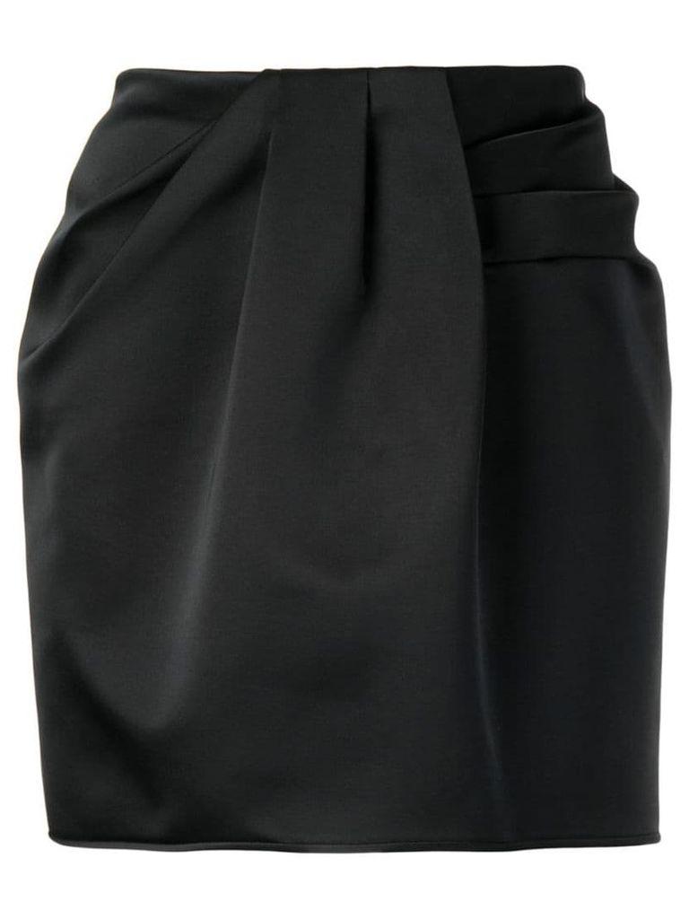 Nº21 draped skirt - Black