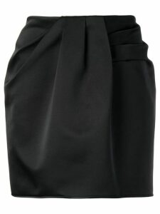 Nº21 draped skirt - Black
