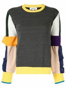 Enföld colour block knit sweatshirt - Multicolour