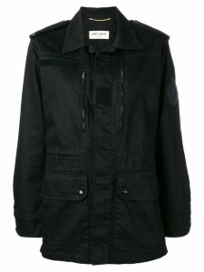 Saint Laurent military parka - Black