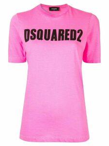 Dsquared2 logo print T-shirt - Pink