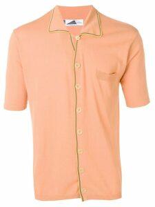 Anglozine Marcello knit shirt - Orange